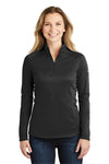 The North Face NF0A3LHC Womens Tech 1/4 Zip Fleece Jacket Black Front
