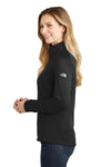 The North Face NF0A3LHC Womens Tech 1/4 Zip Fleece Jacket Black Side