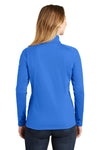 The North Face NF0A3LHC Womens Tech 1/4 Zip Fleece Jacket Monster Blue Back