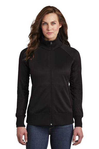 The North Face NF0A3SEV Womens Tech Full Zip Fleece Jacket Black Front