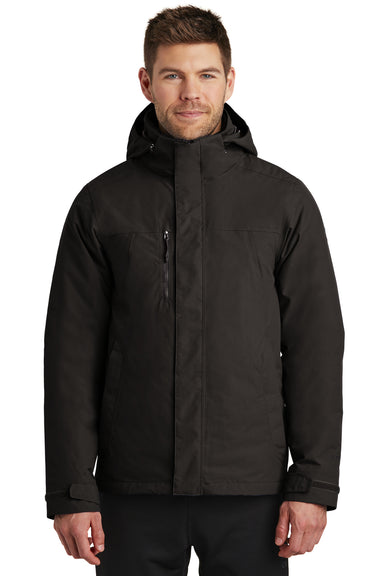 The North Face NF0A3VHR Mens Traverse Triclimate 3-in-1 Waterproof Full Zip Hooded Jacket Black Front