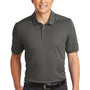 Nike Mens Edge Dri-Fit Moisture Wicking Short Sleeve Polo Shirt - Anthracite Grey