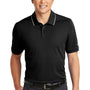 Nike Mens Edge Dri-Fit Moisture Wicking Short Sleeve Polo Shirt - Black
