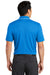 Nike NKAA1849 Mens Edge Dri-Fit Moisture Wicking Short Sleeve Polo Shirt Sapphire Blue Back