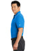 Nike NKAA1849 Mens Edge Dri-Fit Moisture Wicking Short Sleeve Polo Shirt Sapphire Blue Side