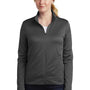 Nike Womens Therma-Fit Moisture Wicking Fleece Full Zip Sweatshirt - Anthracite Grey