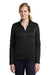 Nike NKAH6260 Womens Therma-Fit Moisture Wicking Fleece Full Zip Sweatshirt Black Front