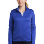 Nike Womens Therma-Fit Moisture Wicking Fleece Full Zip Sweatshirt - Game Royal Blue
