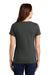 Nike NKBQ5234 Womens Dri-Fit Moisture Wicking Short Sleeve Scoop Neck T-Shirt Anthracite Grey Back