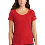 Nike Womens Dri-Fit Moisture Wicking Short Sleeve Scoop Neck T-Shirt - University Red