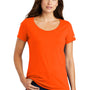 Nike Womens Core Short Sleeve Scoop Neck T-Shirt - Brilliant Orange