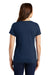 Nike NKBQ5236 Womens Core Short Sleeve Scoop Neck T-Shirt Navy Blue Back