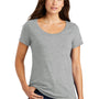 Nike Womens Core Short Sleeve Scoop Neck T-Shirt - Heather Dark Grey