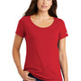 Nike Womens Core Short Sleeve Scoop Neck T-Shirt - Gym Red