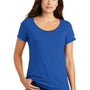 Nike Womens Core Short Sleeve Scoop Neck T-Shirt - Rush Blue