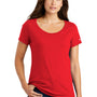 Nike Womens Core Short Sleeve Scoop Neck T-Shirt - University Red