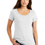 Nike Womens Core Short Sleeve Scoop Neck T-Shirt - White