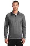 Ogio OE500 Mens Endurance Pursuit 1/4 Zip Sweatshirt Diesel Grey Front
