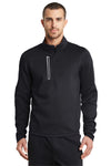 Ogio OE701 Mens Endurance Fulcrum 1/4 Zip Jacket Black Front