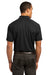 Ogio OG110 Mens Optic Moisture Wicking Short Sleeve Polo Shirt Black Back