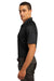 Ogio OG110 Mens Optic Moisture Wicking Short Sleeve Polo Shirt Black Side