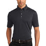 Ogio Mens Gauge Moisture Wicking Short Sleeve Polo Shirt - Blacktop