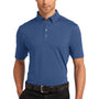 Ogio Mens Gauge Moisture Wicking Short Sleeve Polo Shirt - Indigo Blue