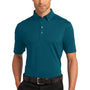 Ogio Mens Gauge Moisture Wicking Short Sleeve Polo Shirt - Throttle Teal Blue
