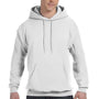 Hanes Mens EcoSmart Print Pro XP Hooded Sweatshirt Hoodie - White