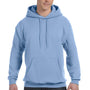 Hanes Mens EcoSmart Print Pro XP Hooded Sweatshirt Hoodie - Light Blue