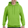 Hanes Mens EcoSmart Print Pro XP Hooded Sweatshirt Hoodie - Lime Green