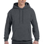 Hanes Mens EcoSmart Print Pro XP Hooded Sweatshirt Hoodie - Heather Charcoal Grey