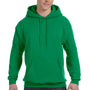 Hanes Mens EcoSmart Print Pro XP Hooded Sweatshirt Hoodie - Kelly Green