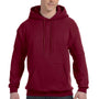 Hanes Mens EcoSmart Print Pro XP Hooded Sweatshirt Hoodie - Cardinal Red