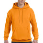 Hanes Mens EcoSmart Print Pro XP Hooded Sweatshirt Hoodie - Safety Orange