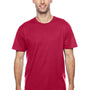 Hanes Mens X-Temp Moisture Wicking Short Sleeve Crewneck T-Shirt - Deep Red