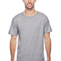 Hanes Mens X-Temp Moisture Wicking Short Sleeve Crewneck T-Shirt - Light Steel Grey