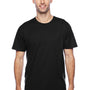 Hanes Mens X-Temp Moisture Wicking Short Sleeve Crewneck T-Shirt - Black