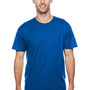 Hanes Mens X-Temp Moisture Wicking Short Sleeve Crewneck T-Shirt - Deep Royal Blue