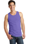 Port & Company PC099TT Mens Beach Wash Tank Top Amethyst Purple Front