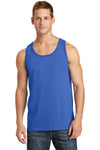 Port & Company PC54TT Mens Core Tank Top Royal Blue Front