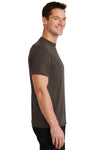 Port & Company PC55 Mens Core Short Sleeve Crewneck T-Shirt Brown Side