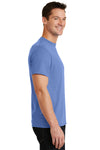 Port & Company PC55 Mens Core Short Sleeve Crewneck T-Shirt Carolina Blue Side