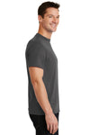 Port & Company PC55 Mens Core Short Sleeve Crewneck T-Shirt Charcoal Grey Side