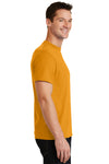 Port & Company PC55 Mens Core Short Sleeve Crewneck T-Shirt Gold Side