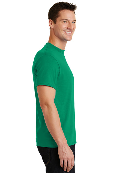 Port & Company PC55 Mens Core Short Sleeve Crewneck T-Shirt Kelly Green Side