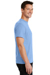 Port & Company PC55 Mens Core Short Sleeve Crewneck T-Shirt Light Blue Side