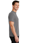 Port & Company PC55 Mens Core Short Sleeve Crewneck T-Shirt Medium Grey Side