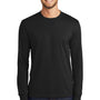 Port & Company Mens Core Long Sleeve Crewneck T-Shirt - Jet Back