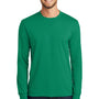 Port & Company Mens Core Long Sleeve Crewneck T-Shirt - Kelly Green